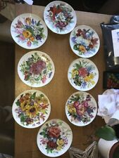 Set Of 8 Hutschenreuther Hanging Plates