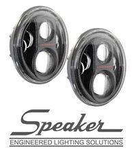 JW Speaker 8700 Evolution J2 Series LED Headlight Set Carbon Fiber 07-17 Jeep JK