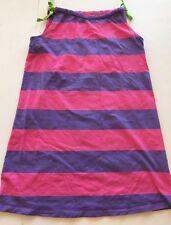 Hanna Andersson Size 150 Pink & Purple Striped Cotton Knit Pillowcase Dress