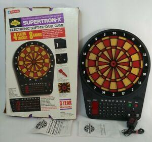 RARE Arachnid Cricket Electronic Soft Tip Dartboard 4 Player - USA MADE
