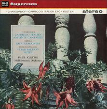PHILHARMONIA ORCHESTRA/PAUL KLETZKI - Tchaikovsky/Capriccio Italien/Glinka. LP