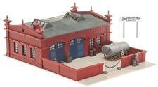 FALLER Modellbahn-Gebäude,-Tunnel & -Bücken der Spur H0 aus Kunststoff mit Industriegebäude