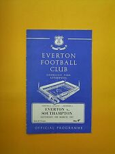 League Division One - Everton v Southampton - 18th March 1967