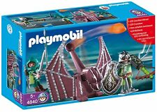 Chevaliers Dragon vert et catapulte Playmobil 4840