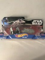 STAR WARS HOT WHEELS DIE-CAST - TIE FIGHTER & MILLENNIUM FALCON NIP MIB NEW B