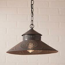SHOPKEEPER new Shade Light with Chisel in Blacken Tin