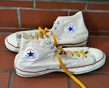 Vintage Converse Chuck Taylor High Top Shoes Blue Label Made In Usa Size 13