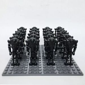 Star Wars Superkampfdroiden Battle Droids Minifiguren 20 Stück Custom für Lego