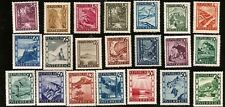 AUSTRIA NATURE WANDERLAND AND ATTRACTIONS  MINT AUSTRIA STAMPS 1946 - 21 STAMPS!