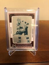 2013-14 Matt Tennyson The Cup 1/1! Rookie Masterpieces Cyan Printing Plate