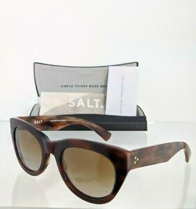 Brand New Authentic SALT Sunglasses PILA COG Brown 53mm Polarized Frame