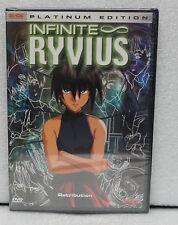 Infinite Ryvius Vol 5 Retribution DVD Factory Sealed