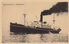 Postcard Ship Nippon Kaisha SS Hakusan Maru