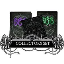 666 Playing Cards Dark Reserve Purple & Green Set 3-Decks (Pre-Order)