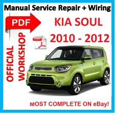 # Official Workshop Manual Service Repair for Kia Soul 2010 - 2012