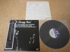 Ella Fitzgerald Sings Count Basie Plays ~ A Classy Pair/ Japan LP/ OBI Sheet