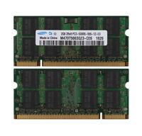 Hynix 4GB 2X2GB DDR2 PC2-6400 800Mhz Memory for Apple Macbook Pro iMac Mac Mini