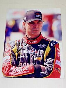 Jeff Gordon NASCAR HALL OF FAMER DTEH SPRINT CUP SERIES 8x10 autographed photo