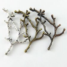 15pcs Mixed Vintage style Tree Branch Pendant Jewelry Finding Charm Hot  37993