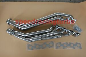 EXHAUST MANIFOLD FOR 11-16 FORD MUSTANG GT 5.0/302 V8 STAINLESS LONG TUBE HEADER