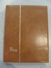 Album / Classeur de Timbres vide - KING - 24,5 x 19 cm - 32 pages / 8 bandes