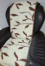 """Housse de fauteuil """" branches """", 50x200 cm, fauteuil, Coussin chaise 100% laine"""