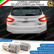 COPPIA LAMPADE PY21W BAU15S CANBUS 35 LED HYUNDAI IX35 FRECCE POSTERIORI