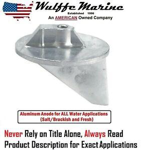 Aluminum Trim Fin Anode for Mercruiser Alpha 1 & many Mercury Outboards 31640A1
