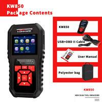 KONNWEI OBDII Scanner Code Reader KW850 Professional Anto Car Diagnostic D7U2