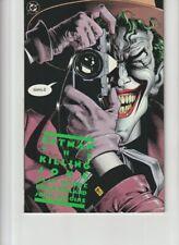 BATMAN: THE KILLING JOKE  FIRST DC PRINT ALAN MOORE BRIAN BOLLAND