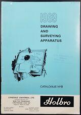 Vintage Holbro Drawing & Surveying Apparatus Catalogue No 8, 1969