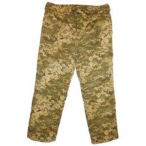 Winter Military Army Digital Camo Trousers. Russian Ukrainian Uniform. BDU Suit.