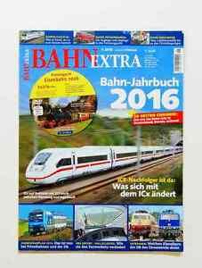 Bahn-Jahrbuch 2016 - Bahn-Extra 1/2016