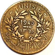 2 Francs 1947 Tunisie KM# 248