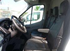 2+1 Kunstleder Sitzbezug Sitzbezüge Schwarz Schonbezüge für Ford Renault Toyota
