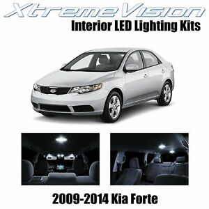 XtremeVision Interior LED for Kia Forte 2009-2014 (8 PCS) Pure White
