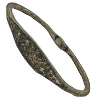 Antique Tribal African Metal Bracelet Money Currency Authentic Old Artifact