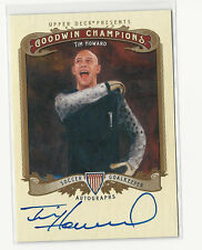 Tim Howard 2012 UD Goodwin Champions On-Card Auto Autograph Soccer USA