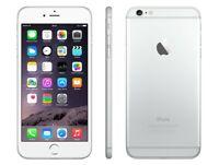Apple iPhone 6 64GB Silber - neue Batterie - 1 Jahr Garantie - guter Zustand