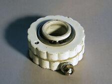 Old school bmx cable detangler gyro rotor for freestyle bikes, white