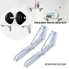 Foldable Metal Brackets Corner Brace Triangle Shelf Iron Bracket Storage Display
