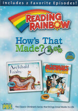 READING RAINBOW: HOW'S THAT MADE (ARCHIBALD FRISBY / ALISTAIR'S TIME MACHI (DVD)