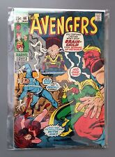 The Avengers #86 VF High-Grade 1st Appear Brain-Child  2nd Squadron Supreme