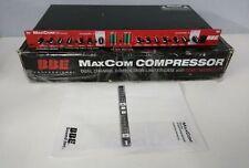 BBE Sound MaxCom Dual Channel Rack Compressor Limiter w/ Sonic Maximizer