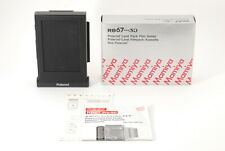 【UNUSED in BOX】Mamiya RB67 PRO SD Polaroid Film Back Holder HP701 From JAPAN
