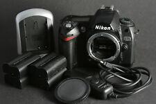 Nikon D70 DSLR schwarz (nur Gehäuse) inkl. Zubehörpaket; gebraucht