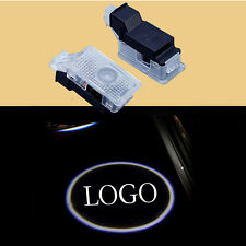2X LED Car Door Logo Laser Shadow Welcome  Projector Lights for Acura ZDX MDX TL