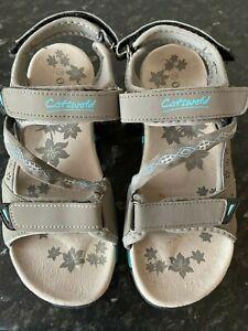 Walking Sandals, Ladies Cotswold Walking Sandals Size 5