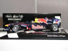 Coche de carreras de automodelismo y aeromodelismo Sebastian Vettel escala 1:43
