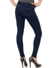 HUE Blue Skinny Jeanz (Jeans) Denim Leggings, XS - MSRP $40